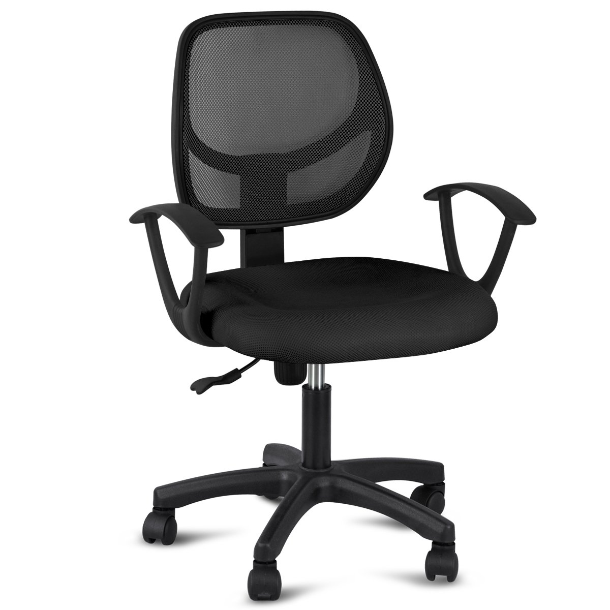 Best office chair 2016 - Gotobuy Adjustable Computer Desk Chair With Arms Black