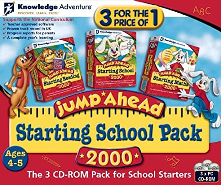 Jump Ahead 2000 Starting School Triple Pack