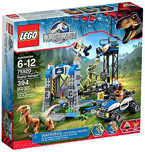 LEGO-Jurassic-Park-Jurassic-World-Raptor-Escape-Set-75920