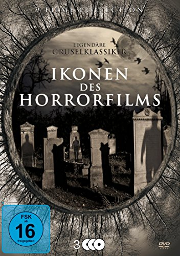 Ikonen des Horrorfilms - Legendäre Gruselklassiker [3 DVDs]