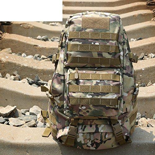 épaule Camouflage sac / ventilateurs militaires tactique / sac / sac à dos en plein air / sac d'alpinisme sac-5 50L