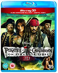 Pirates of the Caribbean: On Stranger Tides (Blu-ray 3D + 2D Blu-ray)[Region Free]