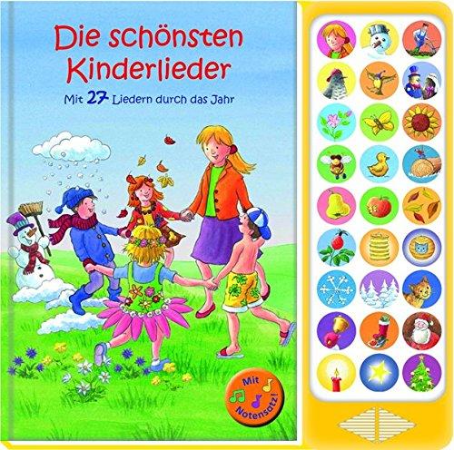 27-Button Soundbuch - Die schönsten Kinderlieder zum Mitsingen - Mit 27 Liedern...