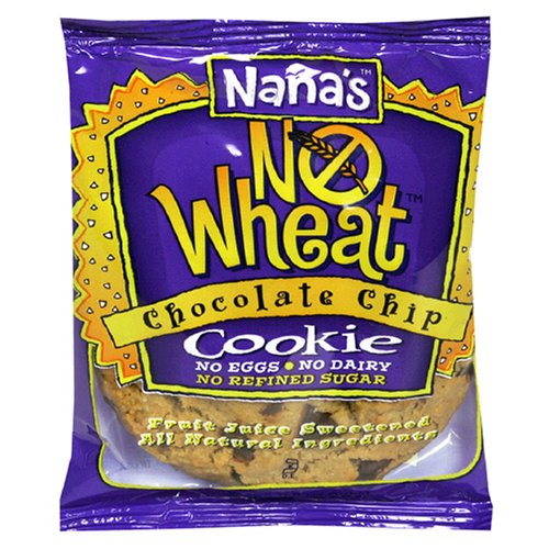 Nana's No Wheat Chocolate Chip Cookie, 3.5-Ounce Packages (Pack of 12)