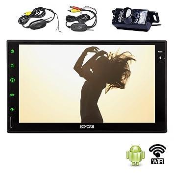 eincar Hot Modèle Android 4.2.2GPS Navigation stéréo de voiture sans DVD avec nouveau Full Touch Panneau en Dash Support Intégré WiFi Internet Radio AM FM RDS 7Bouton Couleur Indicateur auxiliaire Bluetooth A