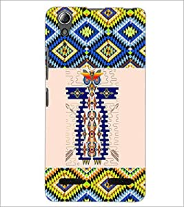 PrintDhaba Owl Pattern D-3000 Back Case Cover for LENOVO A6000 PLUS (Multi-Coloured)