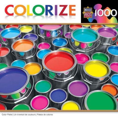 Colorize Color Palette puzzle Masterpieces