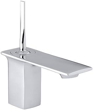 KOHLER K-14760-4-CP Stance Single-Control Lavatory Faucet, Polished Chrome