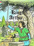 King Arthur Coloring Book (0486288870) by Thomas Crawford