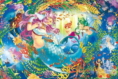 めざせ!パズルの達人 1000ピース 人魚姫物語 11-439
