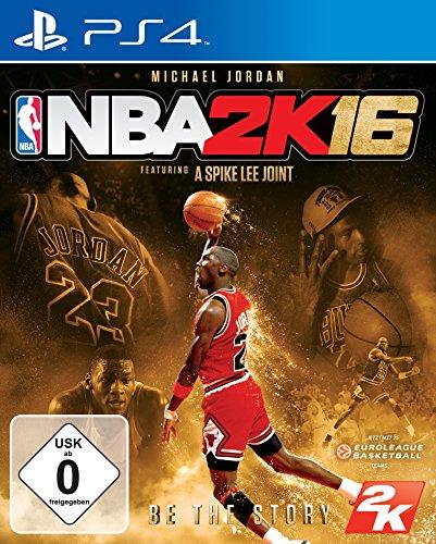 NBA 2K16 Michael Jordan Edition (USK ohne Altersbeschränkung) PS4