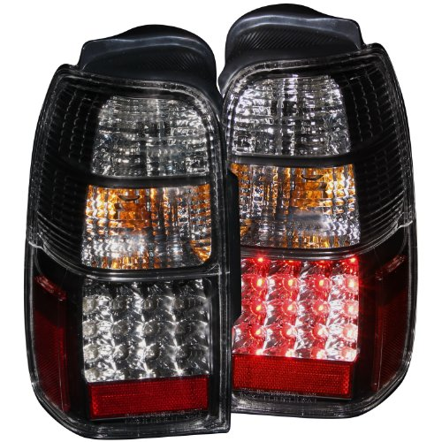Anzo Usa 311099 Toyota 4Runner Jdm Black Led Tail Light Assembly - (Sold In Pairs)