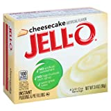 Jell-O Cheesecake Instant Pudding Mix 3.4 Ounce Box (Pack of 6)