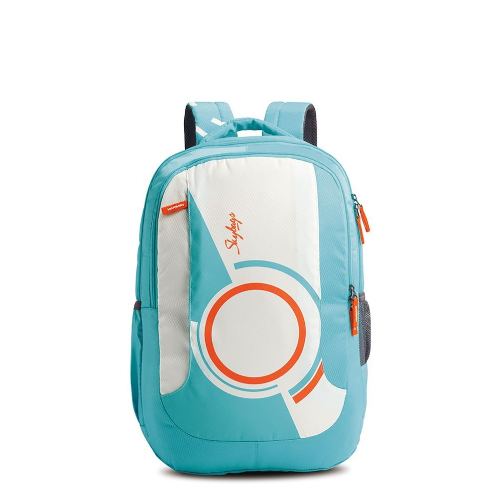 School bags online cash on delivery - Skybags Pogo Extra 35 Ltrs Teal School Backpack Bppoge3tel