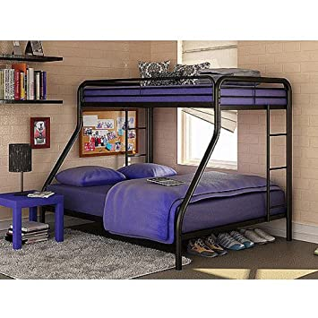 Simple Bed Frames Headboards u Footboards Bunk Beds for Kids This Child Bedroom Furniture Piece Is a Quality Twin Over Full Bunk Bed Offered on Sale