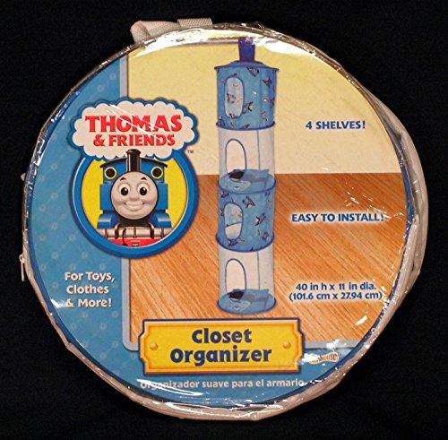 Thomas & Friends 4 Tier Hanging Closet Organizer - 1