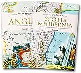 echange, troc Joan Blaeu, Peter Van Der Krogt - Atlas maior of 1665 Coffret en 2 volumes : Tome 1, Anglia ; Tome 2, Scotia & Hibernia