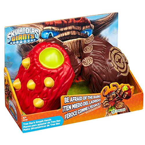 Skylanders Tree Rex's Smash Hands,feature a foam ball launcher