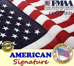 American Signature American Flag, 3x5 Feet