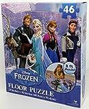 """Disney Frozen Floor Puzzle (46-Piece) 24"""" x 36"""""""