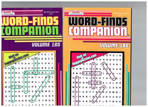 Word-Finds Companion Set of 2 (See Seller Comments for Volumes) by Kappa - 1