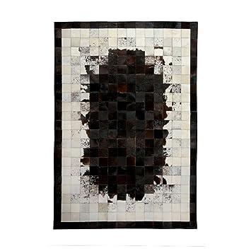 ANDEa Alfombra de costura Geometría nórdica Salón Sofá Mesa de centro de mesa Dormitorio Cama de cabecera Rectángulo 140 * 200cm Originalidad ( Color : #2 , Tamaño : 140*200CM )