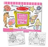 Melissa & Doug Jumbo Coloring Pad - Pink