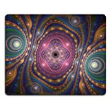 Pattern Abstract Formation Mouse Pads Customized Made to Order Support Ready 9 7/8 Inch (250mm) X 7 7/8 Inch (200mm) X 1/16 Inch (2mm) High Quality Eco Friendly Cloth with Neoprene Rubber Liil Mouse Pad Desktop Mousepad Laptop Mousepads Comfortable Computer Mouse Mat Cute Gaming Mouse_pad