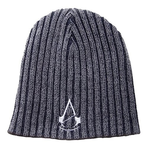 Unidad Creed Sombrero reversible blanco del logotipo Bioworld Assassin - Gorro reversible Assassin's Creed