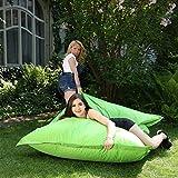 XXL Sitzsack Outdoor und Indoor, Lazy Days, grün, abwaschbar, wasserfest, mit Innensack (apfelgrün)