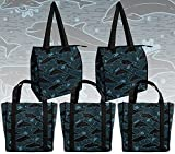 Dolphin Tote Bags