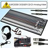 613bvzaVQDL. SL160  Best Price on Behringer SX3242FX Eurodesk 24 Xenyx Mic Preamps 99 Digital Effect Presets 32 channel Analog Mbox 2 Pro Bundle With Accessories ..Buy This