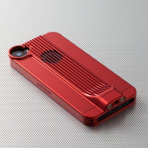 Mooncraft ジュラルミンユニット for iPhone5 red