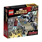 LEGO Superheroes Iron Man vs. Ultron 76029 Includes Iron Man's Iconic Helmet, Thrusters And Super Jumper, 2 Stud Shooters 90 pieces Order Now! With E-book Gift@