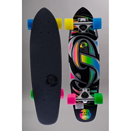 Sector 9 - Skateboard Pack Complet Cruiser Bois The Steady 25.6'' / 65 Cm