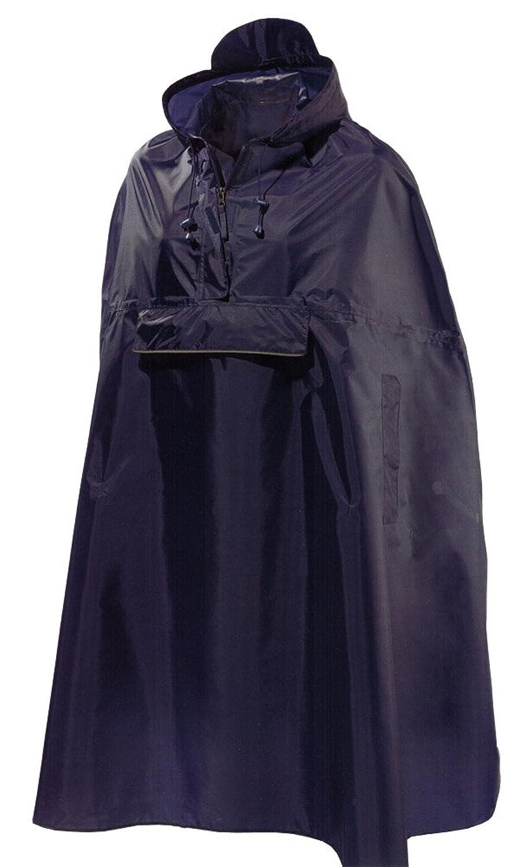 Damen Regencape Mit reflektierenden Elementen Gr. XS/S M/L wählbar Dunkelblau bestellen