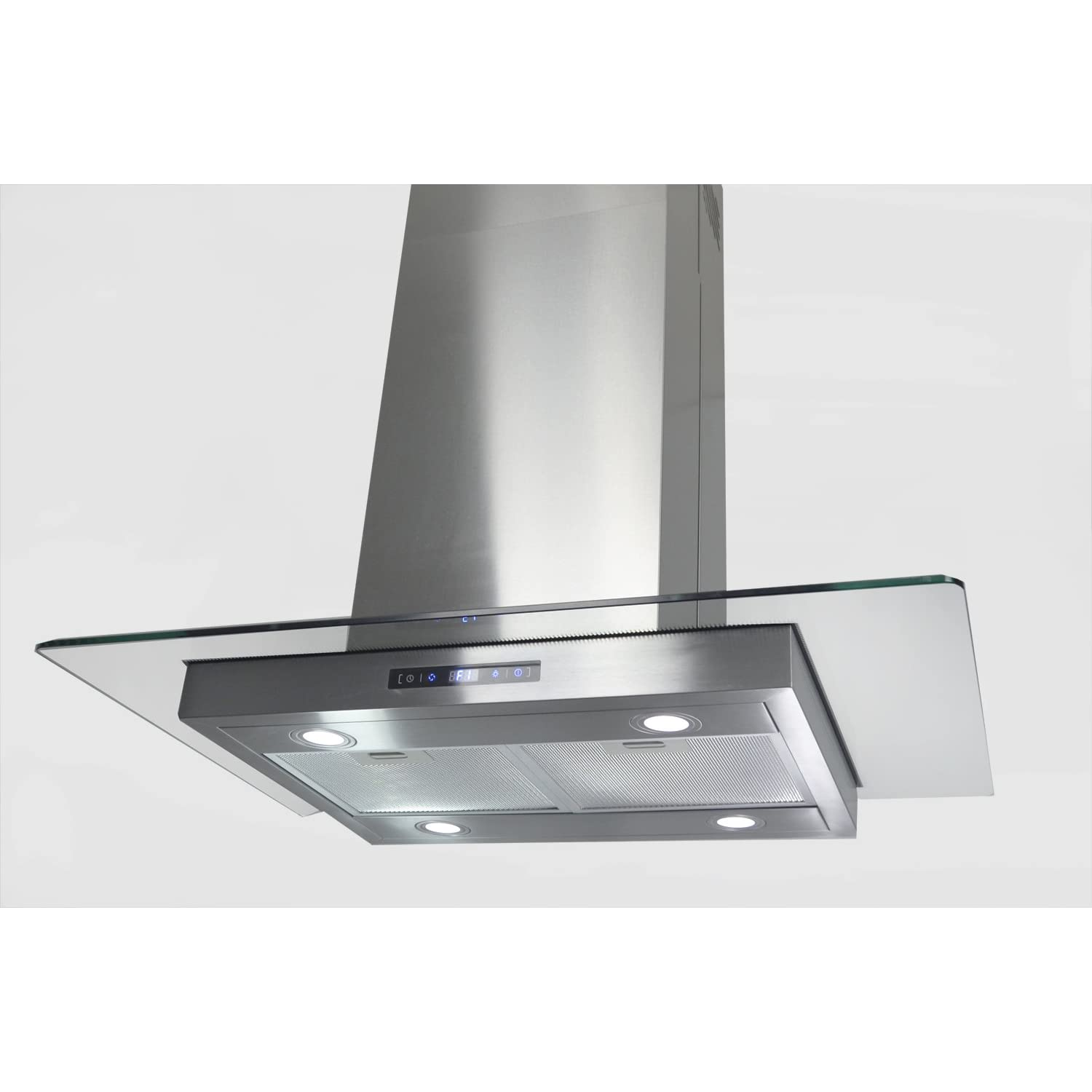 "Golden Vantage 36"" Island Mount Stainless Steel Range Hood Stove Vent KDCI-36CF at Sears.com"