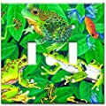 Art Plates - Frogs Switch Plate - Double Toggle