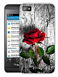 """Roses In Wild Printed Designer Mobile Back Cover For """"Blackberry Z10"""" By Humor Gang (3D, Matte Finish, Premium Quality, Protective Snap On Slim Hard Phone Case, Multi Color)"""