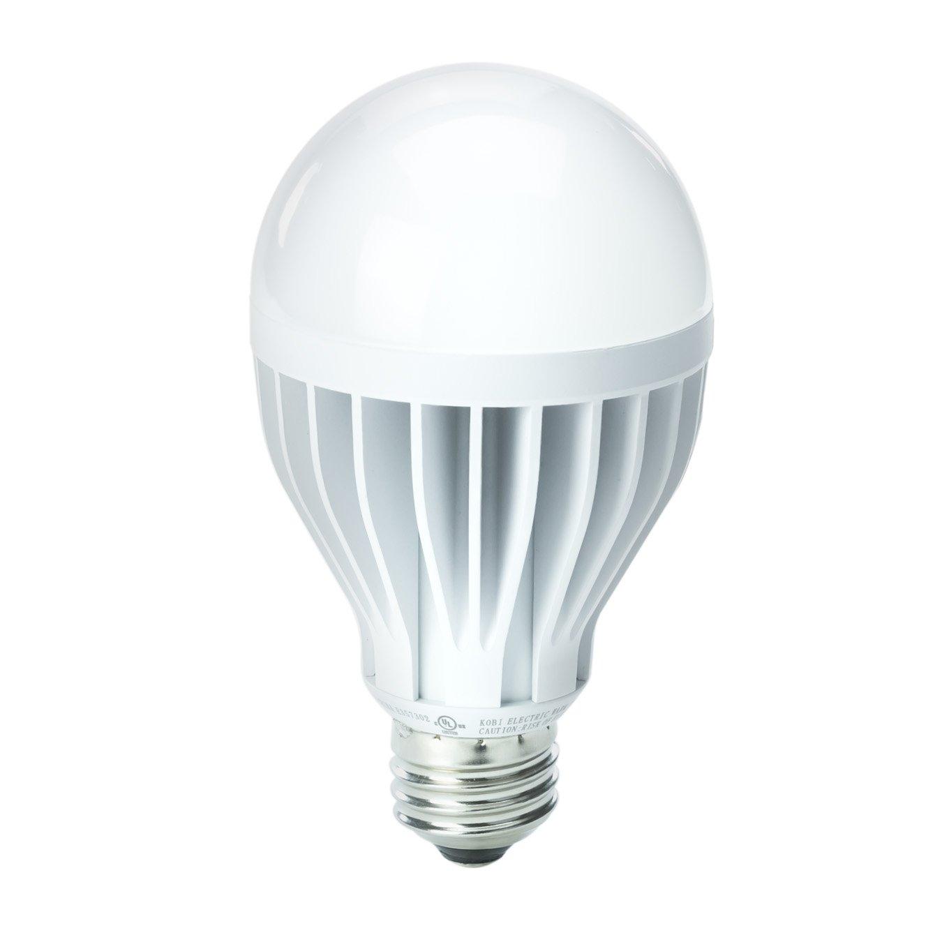 20w Led Bulb A19: KOBI ELECTRIC K2L3 19-watt (100-Watt) A21 LED 5000K COOL