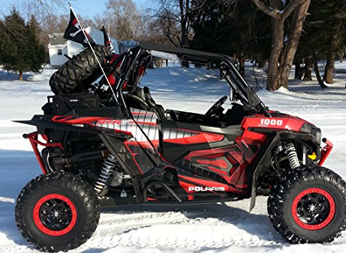 Polaris RZR 1000 XP Graphics Kit with OEM Lower Door Wrap By