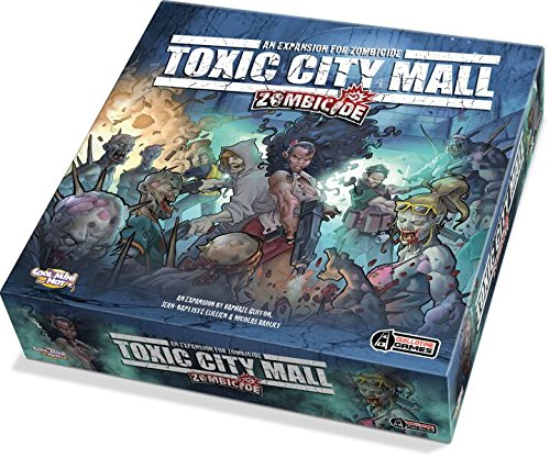 Guillotine Games - 331533 - Zombicide - Toxic City Mall Expansion Board Game - English