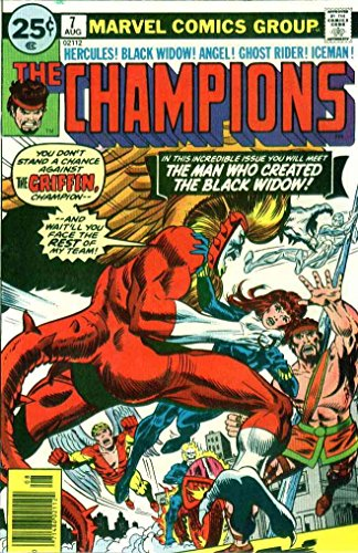 champions-the-marvel-7-vf-nm-marvel-comic-book