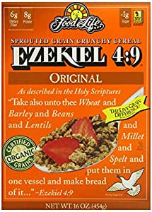 Amazon.com: Food For Life Ezekiel 4:9 Organic Sprouted