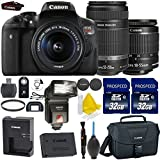 Canon-EOS-Rebel-T6i-242MP-WiFi-Enabled-Digital-SLR-Camera-Canon-EF-S-18-55mm-IS-STM-Canon-EF-S-55-250mm-IS-STM-2pc-High-Speed-32GB-Memory-Cards-UV-Filter-Dedicated-TTL-Flash