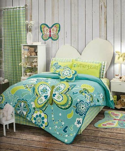 Butterfly Kids Bedding front-1048240
