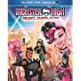 Monster High: Frights, Camera, Action! (Blu-ray + DVD + Digital HD with UltraViolet)