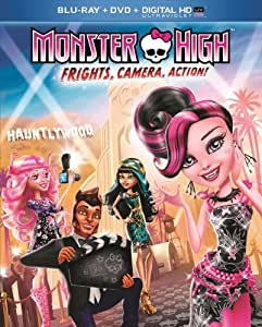 Monster High: Frights Camera Action [Blu-ray] (Bilingual) [Import]