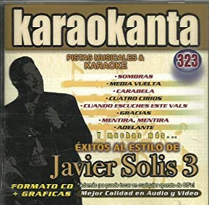 Karaokanta 323 Javier Solis 3 - Karaokanta KAR-4323 - Al
