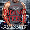 Riding Steele (       UNABRIDGED) by Opal Carew Narrated by Julia Duvall